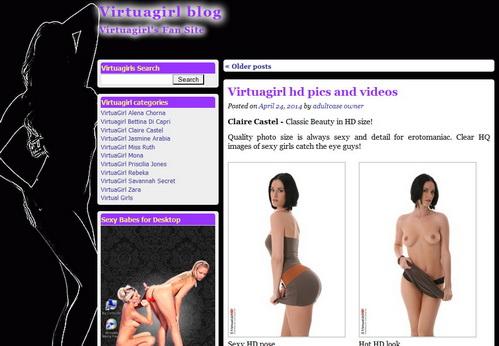 Virtuagirl blog post